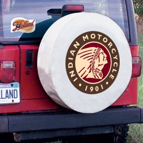 Indian Motorcycles Tire Cover White