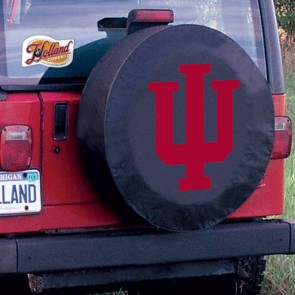 Indiana Black Tire Cover Lifestyle