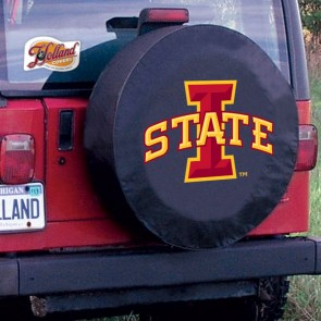 Iowa State Black Tire Cover Lifestyle
