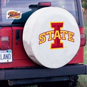 Iowa State White Tire Cover Lifestyle