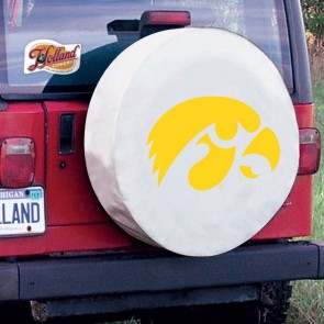 Iowa White Tire Cover Lifestyle