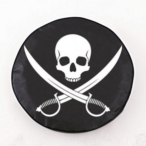 Jolly Roger (clean) Logo Tire Cover