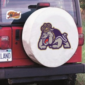James Madison White Tire Cover Lifestyle