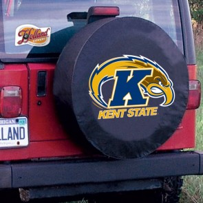 Kent State Black Tire Cover Lifestyle