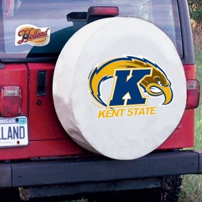 Kent State White Tire Cover Lifestyle