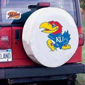 Kansas White Tire Cover Lifestyle