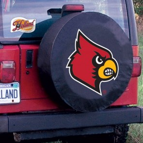 University of Louisville Logo Tire Cover - Black