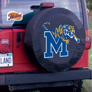 University of Memphis Logo Tire Cover - Black