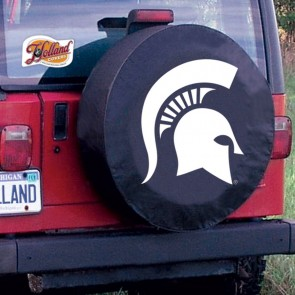 Michigan State University Logo Tire Cover - Black
