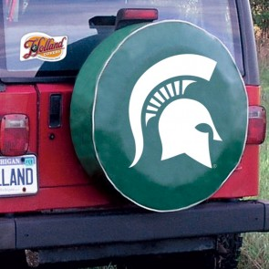 Michigan State University Logo Tire Cover - Green