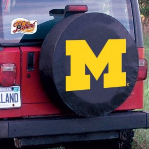 University of Michigan Logo Tire Cover - Black