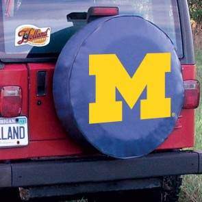 University of Michigan Logo Tire Cover - Navy