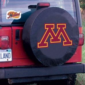 University of Minnesota Logo Tire Cover - Black
