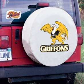 Missouri Western State White Tire Cover Lifestyle