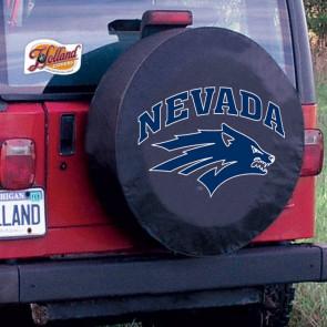 University of Nevada Logo Tire Cover - Black