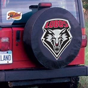 University of New Mexico Logo Tire Cover - Black