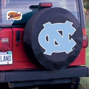 University of North Carolina Logo Tire Cover - Black