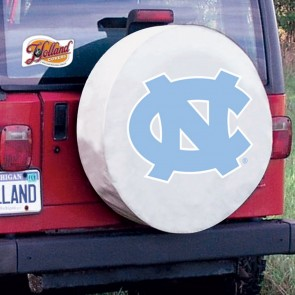 University of North Carolina Logo Tire Cover - White