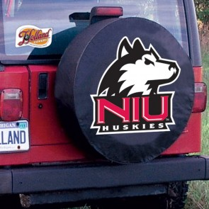 Northern Illinois University Logo Tire Cover - Black