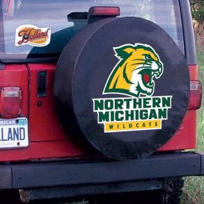 Northern Michigan Tire Cover Black