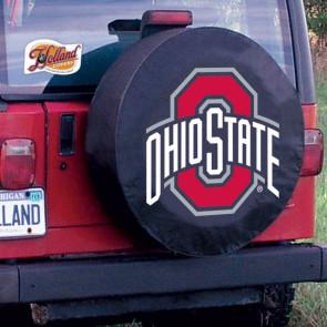 Ohio State Tire Cover Black