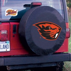 Oregon State University Logo Tire Cover - Black