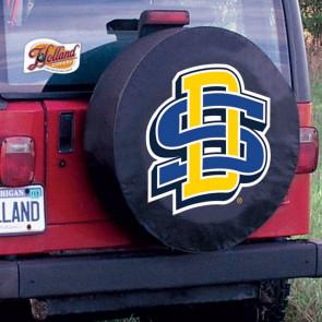 SDSU Tire Cover Black