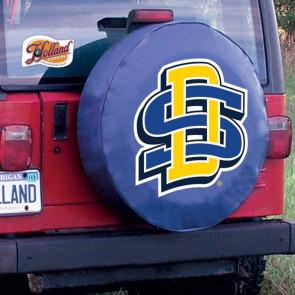 SDSU Tire Cover Navy