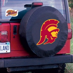 University of Southern California Logo Tire Cover - Black