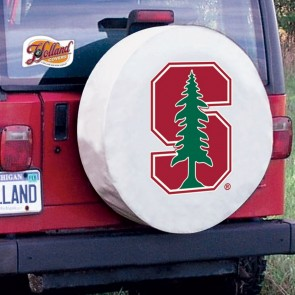 Stanford Tire Cover White