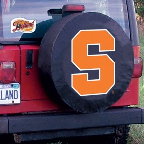 Syracuse University Logo Tire Cover - Black