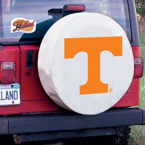 University of Tennessee Logo Tire Cover - White