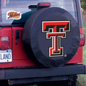 Texas Tech Tire Cover Black