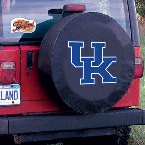 Kentucky UK Black Tire Cover Lifestyle
