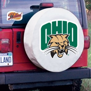 Ohio University Tire Cover White