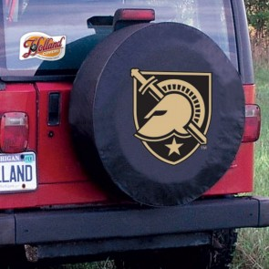 US Military Academy Logo Tire Cover - Black