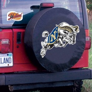 US Naval Academy Logo Tire Cover - Black