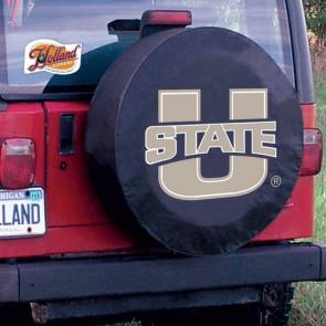 Utah State Tire Cover Black