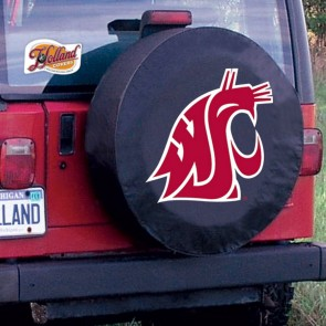 Washington State University Logo Tire Cover - Black