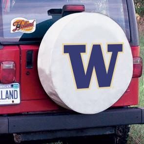 University of Washington Logo Tire Cover - White