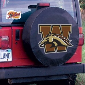 Western Michigan University Logo Tire Cover - Black