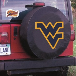 West Virginia University Logo Tire Cover - Black