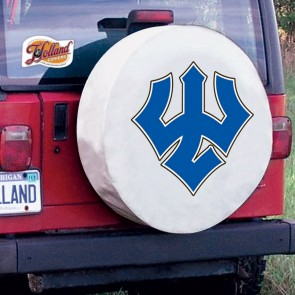 Washington & Lee Tire Cover White
