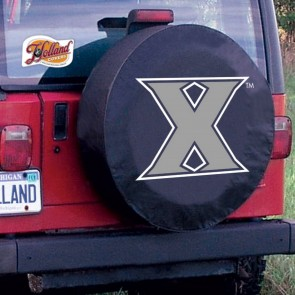 Xavier University Logo Tire Cover - Black