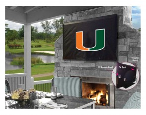 University of Miami Logo TV Cover