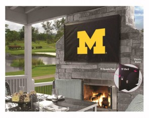 University of Michigan Logo TV Cover