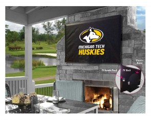 Michigan Tech Logo TV Cover