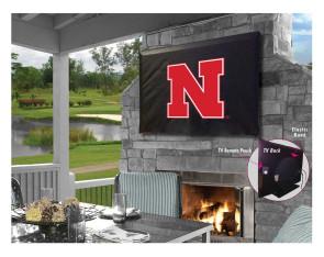 University of Nebraska Logo TV Cover