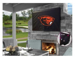 Oregon State University Logo TV Cover