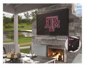 Texas A&M Logo TV Cover